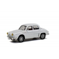 1/43 RENAULT VOITURE MINIATURE DE COLLECTION RENAULT DAUPHINE 1961 BLANC-SOLIDO-S4304300