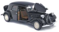 1/18 VOITURE MINIATURE DE COLLECTION CITROEN TRACTION 11CV 1937 NOIRE-SOLIDO-S1800903