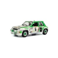 1/18 RENAULT R5 TURBO 6 SERPAGGI/LEGAL GROUPE B RALLYE DE LOZERE 1985 1ER-SOLIDO-S1801303
