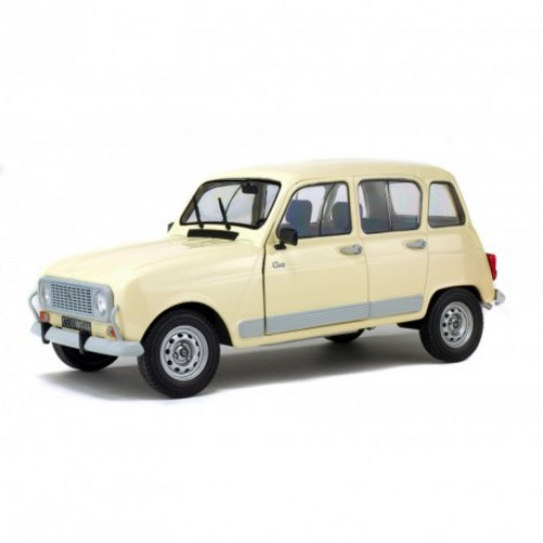 1 18 voiture miniature de collection renault 4l gtl clan 1984 beige solido s1800101 vente de. Black Bedroom Furniture Sets. Home Design Ideas