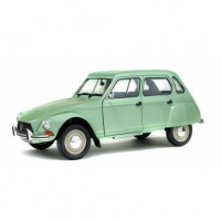 1/18 VOITURE MINIATURE DE COLLECTION CITROEN DYANE 6 1967 VERT JADE-SOLIDO-S1800302