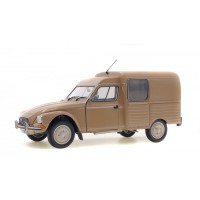 1/18 VOITURE MINIATURE CITROEN ACADIANE 1984 BEIGE COLORADO-SOLIDO-S1800402
