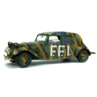 "1/18 CITROEN TRACTION 11CV ""FFI - FORCES FRANCAISES DE L'INTERIEUR"" 1944-SOLIDO-S1800902"