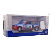 1/18 RENAULT R5 TURBO 16 BRUNO SABY GROUPE B TOUR DE CORSE 1984-SOLIDO-S1801301