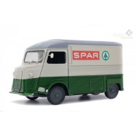 "1/18 VEHICULES UTILITAIRES MINIATURE DE COLLECTION CITROEN TYPE HY ""SPAR"" 1969-SOLIDO-S1850015"