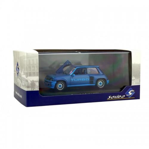 1 43 voiture miniature de collection renault 5 turbo 1980 bleue solido s4301300 vente de. Black Bedroom Furniture Sets. Home Design Ideas