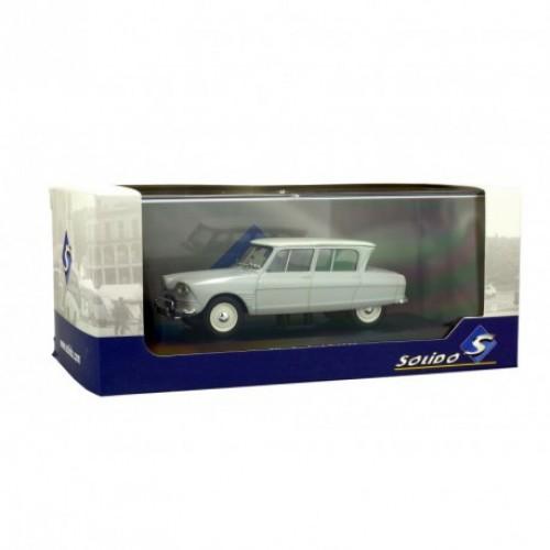 1 43 voiture miniature de collection citroen ami6 1963 gris solido s4301400 vente de voitures. Black Bedroom Furniture Sets. Home Design Ideas