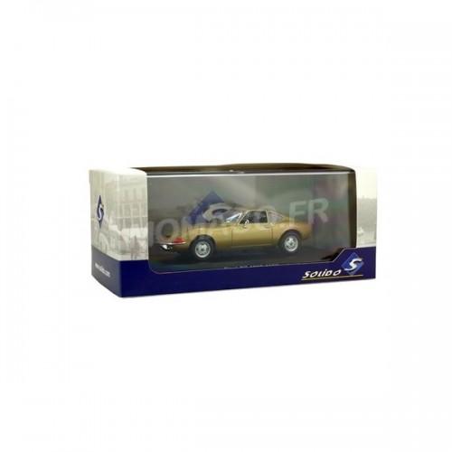 1 43 voiture miniature de collection opel gt 1900 1969 or solido s4302300 vente de voitures. Black Bedroom Furniture Sets. Home Design Ideas