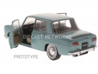 1/18 RENAULT 8 MAJOR VOITURE MINIATURE DE COLLECTION RENAULT 8 MAJOR - 1967-BLEU-SOLIDO 1803601