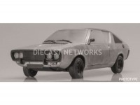 1/18 RENAULT 17 VOITURE MINIATURE DE COLLECTION RENAULT 17 - 1976-GRISE-SOLIDO- 1803701