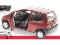 1/18 RENAULT VOITURE MINIATURE DE COLLECTION RENAULT TWINGO - 1992-ROUGE SOLIDO 1804002