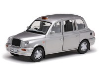 1/18 VEHICULE MINIATURE DE COLLECTION  Taxi Londres CAB argent platine-1998-SUNSTARSUN1125