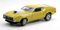 1/18 VOITURE FORD MUSTANG PRO STOCK DRAG CAR 1971 JAUNE-SUNSTARSUN3628