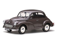 1/12 VOITURE MINIATURE DE COLLECTION Morris Minor noir gris-1962-SUNSTARSUN4784