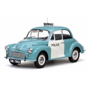 1/12 VEHICULE FORCES DE L'ORDRE Morris Minor Police UK-SUNSTARSUN4785