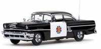 1/18 VEHICULE FORCES DE L'ORDRE Mercury Montclair Police-1956-SUNSTARSUN5146