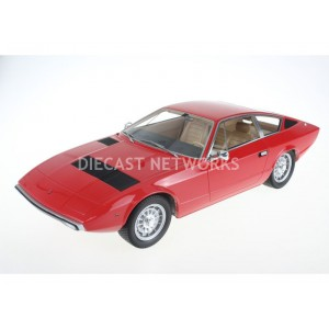 1/18 MASERATI VOITURE MINIATURE DE COLLECTION MASERATI KHAMSIN - 1972-Rouge-TOP MARQUES COLLECTIBLES  TOP033A
