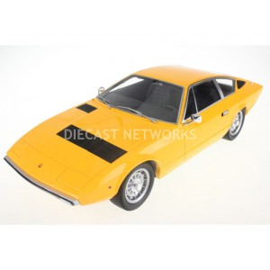 1/18 MASERATI VOITURE MINIATURE DE COLLECTION MASERATI KHAMSIN - 1972-JAUNE-TOP MARQUES COLLECTIBLES  TOP033B