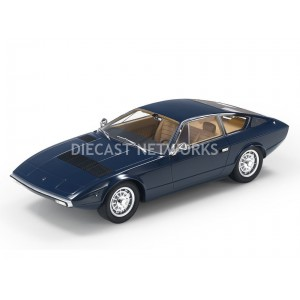 1/18 MASERATI KHAMSIN - 1972-BLEU-TOP MARQUES COLLECTIBLES-TOP033E