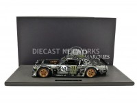 1/12 FORD MUSTANG HOONIGAN - 1965 - KEN BLOCK-Noir / Gris-TOP MARQUES COLLECTIBLES TMR12-03A