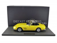 1/12 FERRARI 275 GTB/4 NART SPYDER - 1967-JAUNE-TOP MARQUES COLLECTIBLES TM12-04F