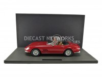 1/12 FERRARI 275 GTB/4 NART SPYDER - 1967 ROUGE-TOP MARQUES COLLECTIBLES TM12-04H