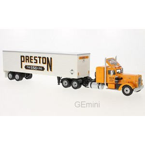 1/43 CAMION MINIATURE DE COLLECTION Peterbilt 350 Preston people-1952-IXOMODELSIXOTTR003