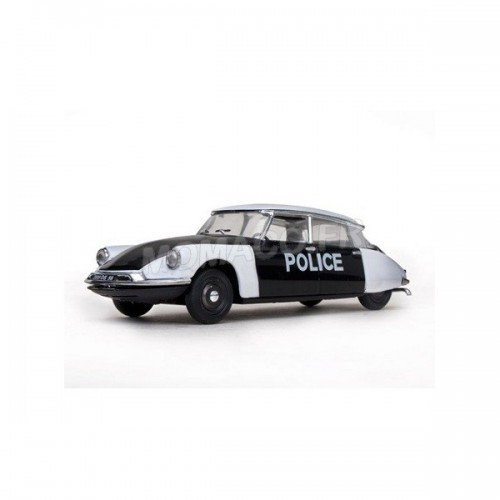 1 43 voiture miniature citroen ds19 1960 police de paris vitessesunvit23508 vente de voitures. Black Bedroom Furniture Sets. Home Design Ideas