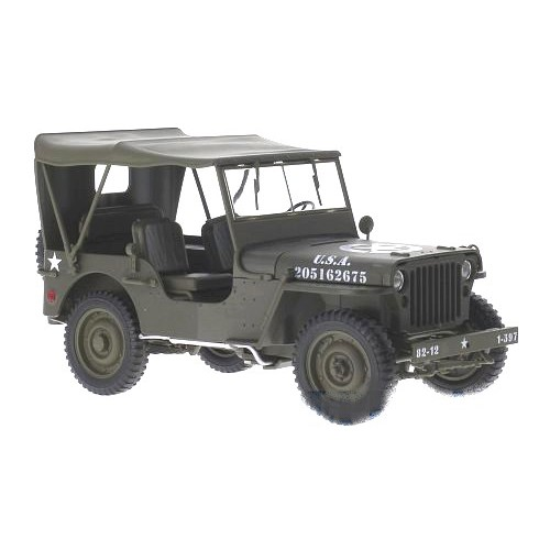 1 18 vehicule miniature de collection jeep willys us army. Black Bedroom Furniture Sets. Home Design Ideas