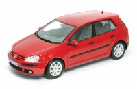 1/18 VOITURE MINIATURE DE COLLECTION Volkswagen Golf V rouge-WELLY12548