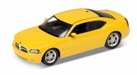 1/24 VOITURE MINIATURE DE COLLECTION Dodge Charger R/T jaune-2006-WELLY22476