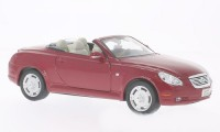 1/24 VOITURE MINIATURE DE COLLECTION Lexus SC 430 rouge foncé-WELLY