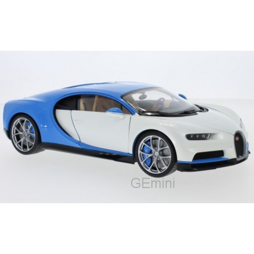 1 18 voiture miniature de collection bugatti chiron blanc wellywel11010whi vente de voitures. Black Bedroom Furniture Sets. Home Design Ideas