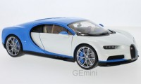 1/18 VOITURE MINIATURE DE COLLECTION Bugatti Chiron blanc-WELLYWEL11010WHI