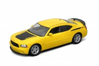1/18 VOITURE MINIATURE DE COLLECTION Dodge Charger R/T couleurs variables-2006-WELLYWEL18003YEL