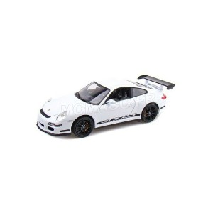 1/18 VOITURE MINIATURE DE COLLECTION PORSCHE 911 (997) GT3 RS COULEURS VARIABLES-WELLY18015