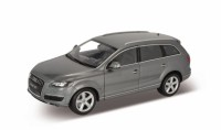 1/18 VOITURE MINIATURE DE COLLECTION Audi Q7 gris métallisé-2010-WELLYWEL18032MGR