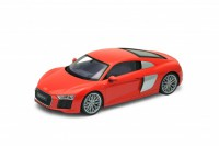 1/18 VOITURE MINIATURE DE COLLECTION Audi R8 V10 rouge-2016-WELLYWEL18052RED