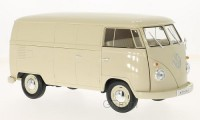 1/18 COMBI MINIATURE DE COLLECTION Volkswagen T1 Van Beige clair-WELLYWEL18053creme