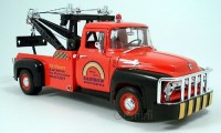 1/18 CAMION MINIATURE DE COLLECTION Ford F100 dépanneuse couleurs variables-1956-WELLYWEL19834