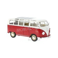 1/24 COMBI MINIATURE VOLKSWAGEN T1 SAMBA 1963-COULEURS VARIABLES-WELLY22095SG