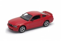 1/24 VOITURE MINIATURE DE COLLECTION Ford Mustang GT rouge-2005WELLYWEL22464RED