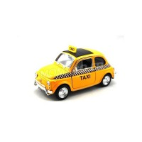 1/24 TAXI MINIATURE DE COLLECTION FIAT NUOVA 500 TAXI-WELLY22515TAXI
