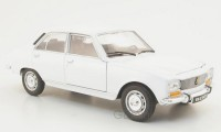 1/24 PEUGEOT VOITURE MINIATURE DE COLLECTION PEUGEOT 504 BLANCHE 1975-WELLY24001WE