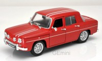 1/24 RENAULT R8 VOITURE MINIATURE DE COLLECTION  RENAULT R8 GORDINI ROUGE 1964-WELLY24015RED
