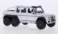 1/24 VEHICULE MINIATURE DE COLLECTION 4X4 Mercedes AMG G 63 6x6 blanc-WELLY