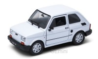 1/24 VOITURE MINIATURE DE COLLECTION Fiat 126 blanc-WELLYWEL24066WHI