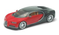 1/24 VOITURE MINIATURE DE COLLECTION Bugatti Chiron rouge-2016-WELLYWEL24077RED