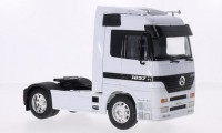 1/32 MERCEDES CAMION MINIATURE DE COLLECTION TRACTEUR MERCEDES ACTROS BLANC-WELLY 32280WHI
