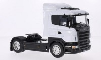 1/32 SCANIA R470 CAMION MINIATURE DE COLLECTION TRACTEUR SCANIA R470 BLANC-WELLY32625
